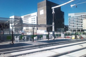 """Station """"Porte de France (en travaux - juillet 2012)"""