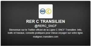 Twitter RER C